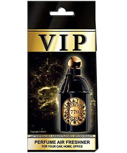5 x Caribi VIP auto luchtverfrisser parfum thuis kantoor geur vergelijkbaar met dure parfum No779