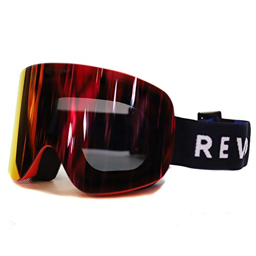 REVOLT リボルト スノーボード ゴーグル FRAMELESS2 フレームレス2 RC05GG RedGray F