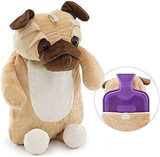 بطری آب داغ بطری کریسمس کریسمس با پوشش زیبا حیوانات 3D (2L، Huggy Puggy)