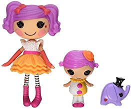 Lalaloopsy Mini Littles Doll - Peanut Big Top / Squirt Lil Top