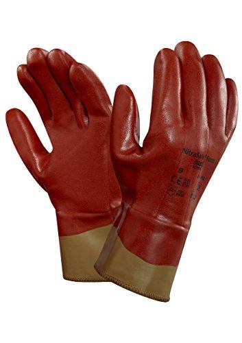 Ansell ActivArmr 28-360 Guanto di Protezione meccanica contro il taglio, Marrone, Taglia 10 (12 Paia)