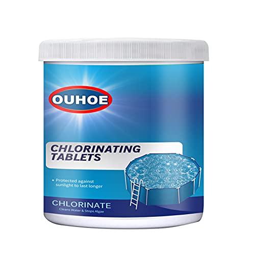 Chlorine Pool Tablets, Chlorinating Tablets Swimming Pool, 50 100 300Pcs Chlorine Swimming Pool Tablet Tablets Chlorine (50pcs - D)