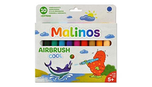 MALINOS 300912 300912-Airbrush Airbrush Cool 10er, Set