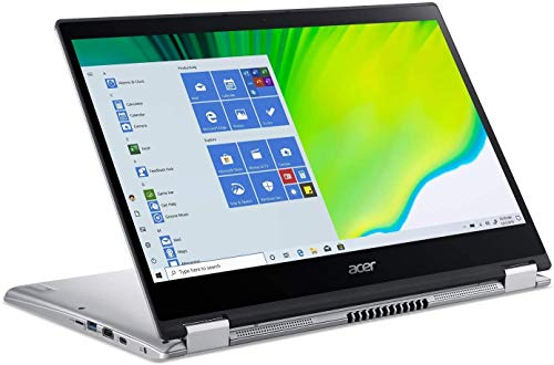 Acer Spin 3 - 14' Intel Core i5-1035G4 1.1GHz 8GB Ram 512GB SSD Windows 10 Home (Renewed)