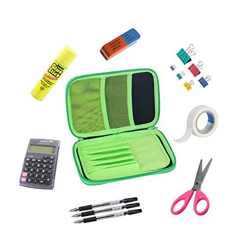 Federmäppchen von Remylady, Täschchen für Stifte und Bleistifte, rechteckig, hohe Kapazität, praktische Aufbewahrung von Schreibmaterial für Schüler und Studenten