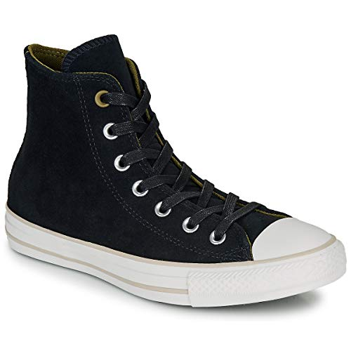 Converse Chuck Taylor As Hi - Zapatillas de baloncesto unisex, color negro, color Negro, talla 9 UK