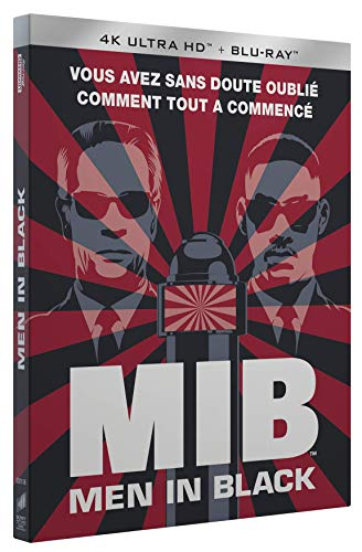 Men in Black [4K Ultra HD + Blu-Ray + Digital + Cartes Postales]