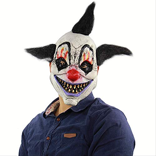 DFLMBV Halloween Horror Wizard Payaso Máscara Ghost House