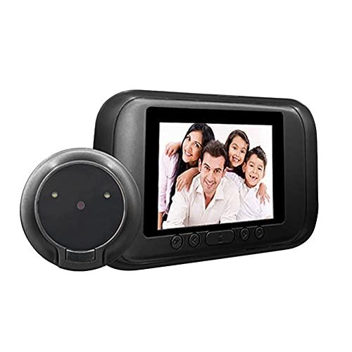 3.5 'LCD Digital Timbre de la visión nocturna mirilla de la puerta del espectador de la cámara de la pulgada pantalla a color de vídeo botón táctil detección de movimiento ojo de gato electrónico