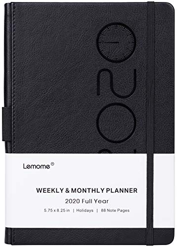 2020 Planner - Weekly, Monthly and Year Planner with Pen Loop, to Achieve