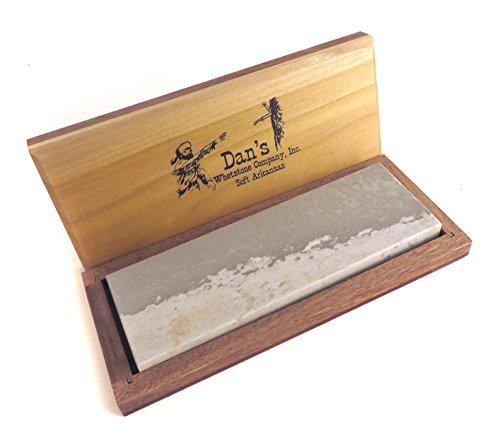 """Dan\'s Whetstone Company Inc. Echter Arkansas weich (mittlere) Messer Bank Stein Schleifstein schärfen 6\""""X 2\"""" X 1/2\"""""""