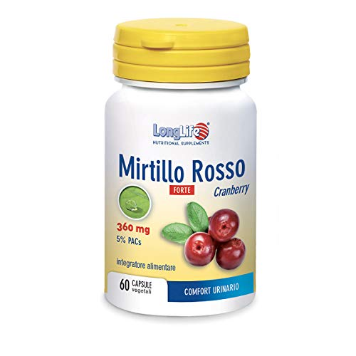 Longlife Mirtillo Rosso Forte 360 Mg - 30 Gr