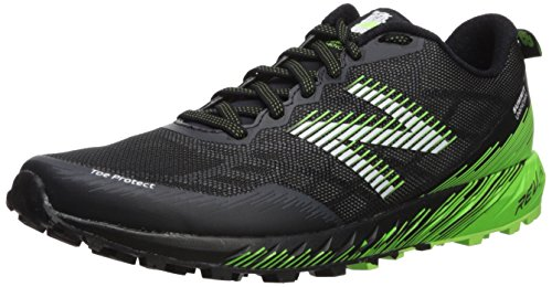 New Balance Men's Summit Unknown V1 Trail Running Shoe, Black/Lime, 8 Wide