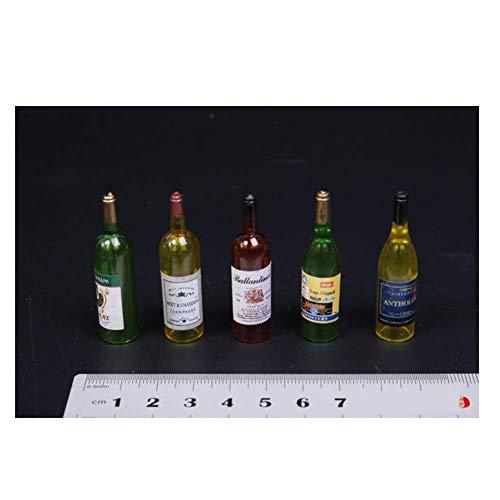 ZSMD 1/6 Scale pop model set scène accessoires rode wijn witte wijn mini fles model geschikt voor dressing HT VERYCOOL TTL Phicen TBLeague