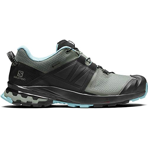 SALOMON Damen XA Wild GTX Cross-Laufschuh, Balsam Green/Black/Meadowbrook, 39.5 EU