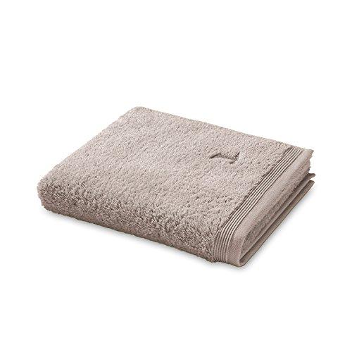 möve Superwuschel serviette de douche, Coton, Cashmere, 80 x 150 cm