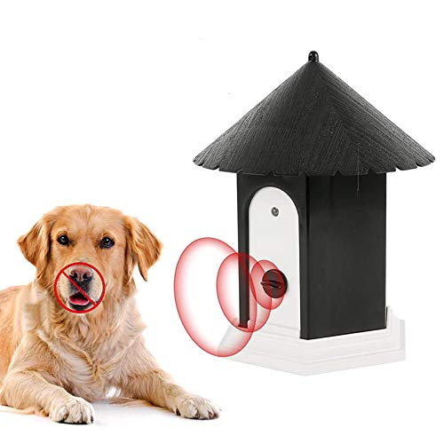 LUCKY BANK Anti Barking Device,Dog Barking Deterrent Devices,Bark Box,Birdhouse,Dog Repellent,Bark Control, Ultrasonic Sonic Bark Deterrents, Dog Training Stopping Barking Tool