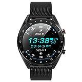 DWEMM Smartwatch Männer, Herzfrequenz-Blutdruckmessgerät, IP68 Wasserdicht Mit Bluetooth-Smartwatch Für Android Und IOS