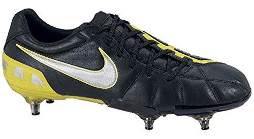 Nike Total 90 Láser III Suave Suelo Fútbol Botas - Negro, hombre, 39.5 EU