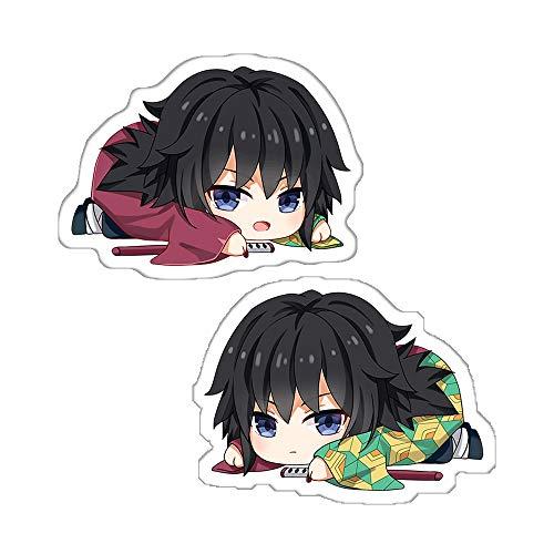 futurecos Anime Plushies Tomioka Giyuu Figure Throw Pillow Demon Slayer Kimetsu no Yaiba Stuffed Anime Characters Plush Toys Decorations for Boys Adults Bedroom Birthday Party Room
