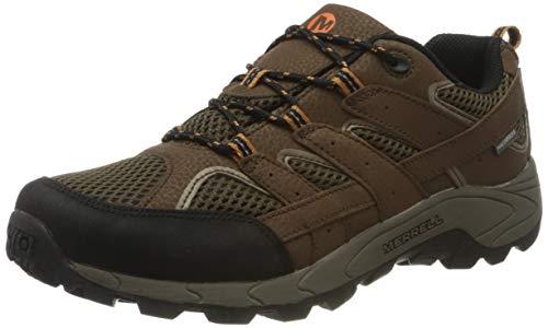 Merrell Moab 2 Low Lace WTRPF, Chaussures de Fitness Mixte pour Enfants, Marron (Earth), 32 EU