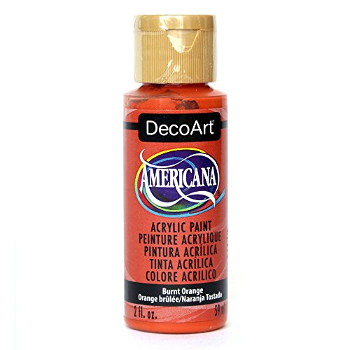 DecoArt Americana Acrylic Paint, 2-Ounce, Burnt Orange