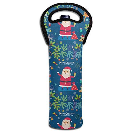 Thermoisolierende Flaschendeckel für Weinflaschen, Kühltasche, Dekoration für Weihnachten und Neujahr