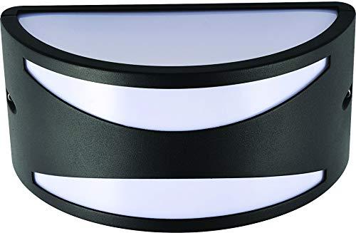 Velamp CYBORG Applique E27 mezzaluna. Design moderno. IP54. Antracite