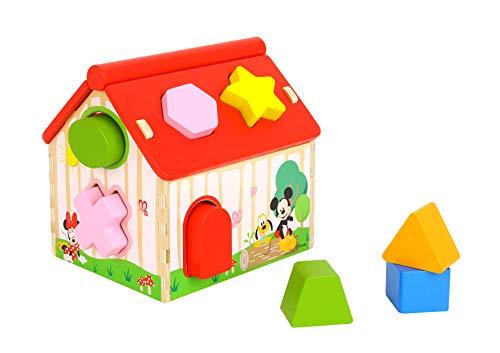 Be_Imex Mouse - Casa de Las Formas Disney Mickey y Sus Amigos, TL821, Multicolor