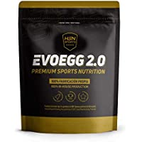 Proteína de Huevo de HSN Sports | Evoegg 2.0 | 100% Albúmina de Huevo en Polvo | Egg Protein | Ideal para personas intolerantes a la lactosa y ovo-lactovegetarianos | Sin Gluten | Sabor Chocolate,2kg