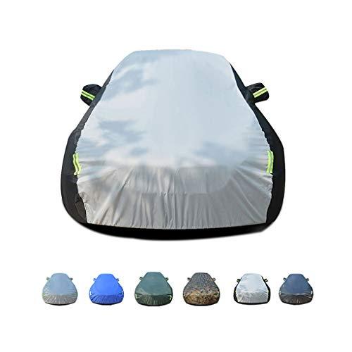 Cubierta para auto Pequeño Hatchback Transpirable, Impermeable, para interiores, al aire libre, para VERANO Coche, a prueba de viento, protección UV a prueba de polvo, cubierta completa para vehículo,