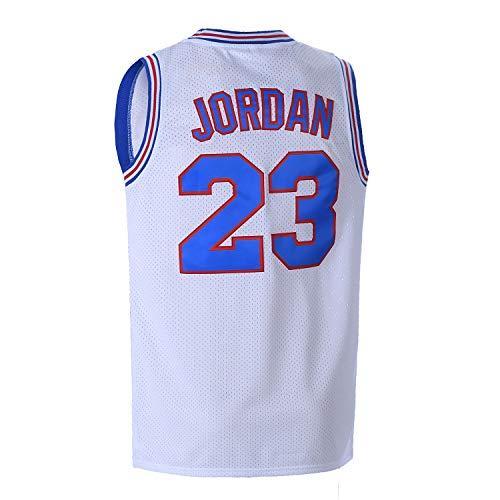 Camiseta de baloncesto juvenil Moive #23 Space Jam camisas para niños -...