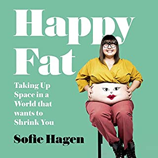 Happy Fat audiobook cover art