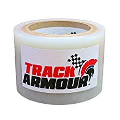 Temporary paint and surface protection for Track Day, AutoX and Road Trips Clear adhesive film that applies in a few minutes to a clean and dry surface (felt tipped squeegee included) 4mil thick film that balances tough, all day protection, with easy...