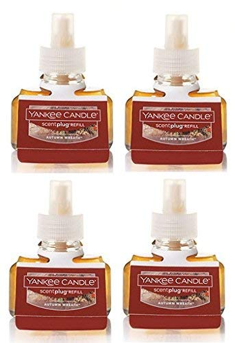 Yankee Candle Autumn Wreath ScentPlug Refill 4-Pack