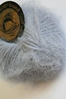 Belangor French Angora Yarn (870 Dark Grey)