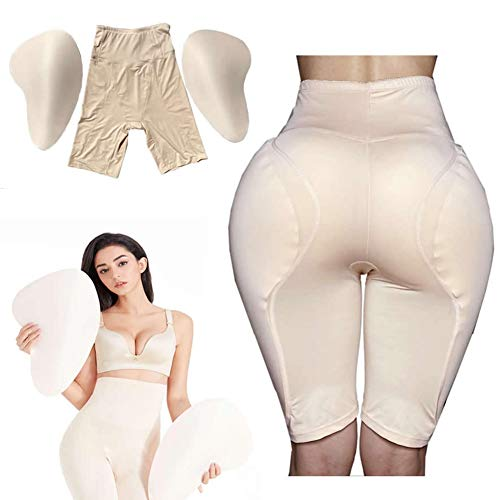 G&F Caderas Intensificador Almohadillas Ropa Interior Elevación Cabeza Bragas Glúteos Incorrectos para Mujer Hips Shaper Enhancer (Color : Skin, Size : XXXL)