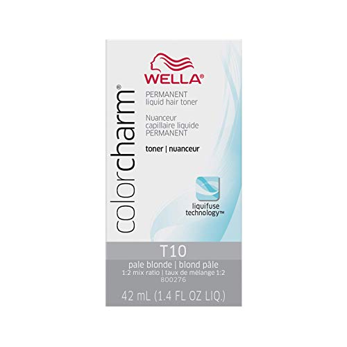 WELLA colorcharm Permanent Liquid Hair Toners for Hair Toning, 1.4 fl oz - Packaging May Vary