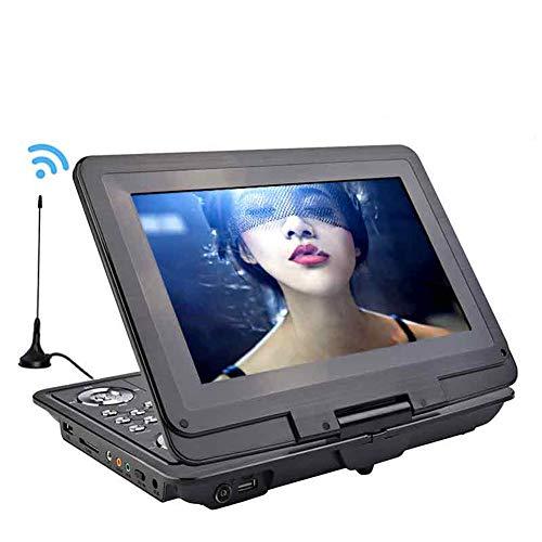 Tragbarer DVD-Player für Auto, TRANSCTEGO DVD Player Portable Car TV 13,9 Zoll Big Player LCD-Schirm für Spiel FM DVD VCD CD MP3 MP4 mit Gamepad-TV-Antenne