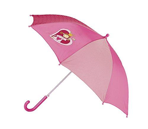 sigikid, Mädchen, Regenschirm mit Königin Pinky Queeny, Rosa/Rot, 23324