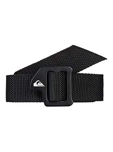 Quiksilver - Cinturón de Cincha - Hombre - M-34 - Negro
