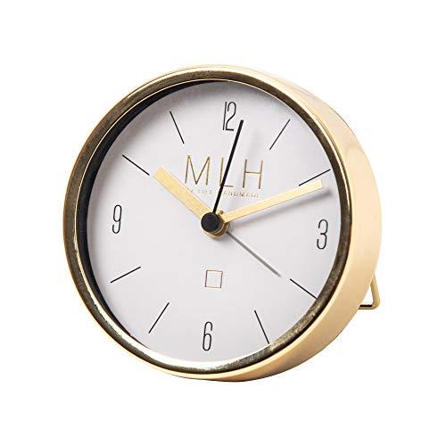 My Life 663800 - Reloj Despertador (8,9 x 8,9 x 2,5 cm), Color Dorado