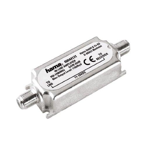 Hama - SAT Inline Amplifier, Plata