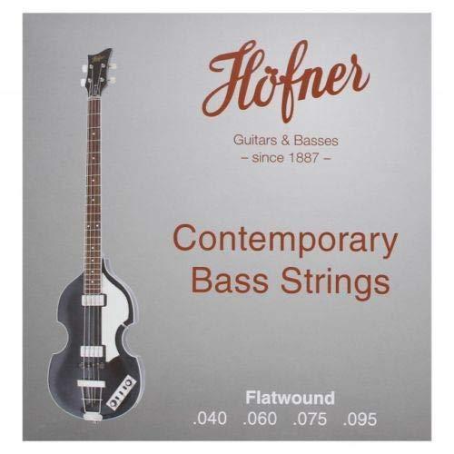 Hofner HCT1133B Flatwound Bass Strings 40,60,75,95