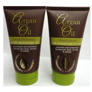 Argan Oil Shampoo & Conditioner With Moroccan Argan Oil Extracts 150ml Each (4 Packs - 2 Shampoos + 2 Contioners)