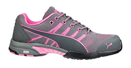 Athletic Shoe,9-1 2,C,Gray,Steel,PR