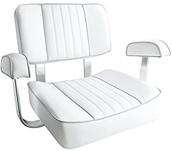 The White Captain's Leader Accessories Boat Seat