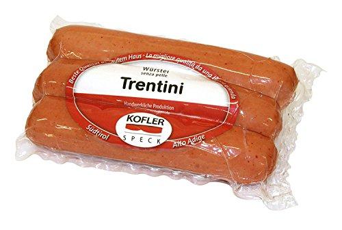 Trentino Würstel ohne Schale 3 Stk vac. ca. 300 gr. - Kofler Speck