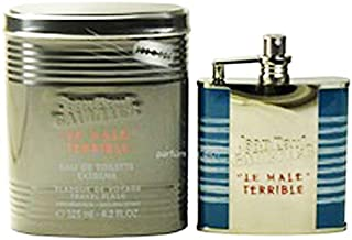 Jean Paul Gaultier Le Beau Male Terrible Extreme Limited Edition Travel Flask For Men -Eau de Toilette, 125 ml-