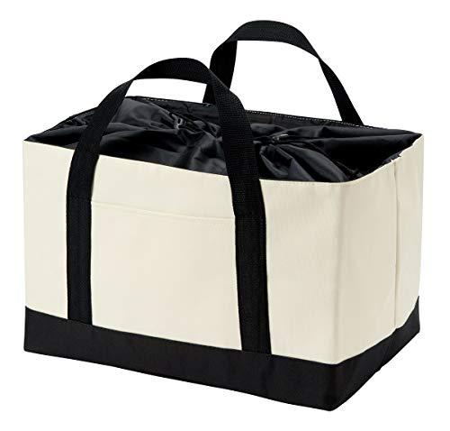 レジかご対応 自転車かごにもすっぽり お買い物バッグ ショッピングバッグ エコバッグ アルミ蒸着加工(保冷保温) レジ袋削減 エコ